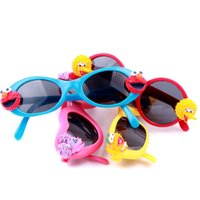 Wholesale Elmo Sesame Street Big Bird Kids Toddler Sun Glasses for Children