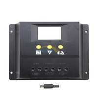 batteries pv systems - 80A V V Solar Controller PV Panel Battery Charge Controller Solar System Home Indoor Use New