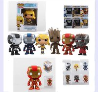 armor all - cm Funko POP All series styles Iron Man iron man armor captain America space star jenn air ents toys