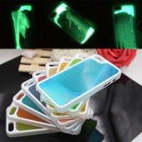 beautiful pc case - Glow In The Dark Running Liquid Luminous Sand Hard PC Back Cover Case For Iphone plus S Splus iphone6 Beautiful Skin