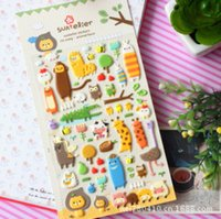 animal kingdom stickers - D Spong Animal Kingdom Series Stickers For DIY Albums Scrapbooking Diary Decoration