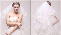 beautiful marriage gauze - 2016 new luxury fashion lady beautiful marriage gauze veil waterfall yarn multilayer gauze wrapping bridal veil white HY00087