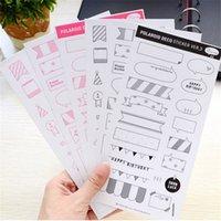 Wholesale Sheets DIY Calendar Photo Paper Sticker Scrapbook Diary Planner Decor