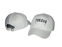 Wholesale New Hot Yeezus Ball Cap Brand Yeezus Ball Hat Summer Fashion Sport Hats Man Woman Baseball Caps Adjustable Snapbacks Drop Shipping