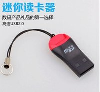 Wholesale 2015 hot TF Card Reader USB Micro SD T Flash TF M2 Memory Card Reader High Speed Adapter for gb gb gb gb gb gb Micro SD Card