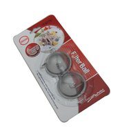 Wholesale Stainless Steel tea ball Tea Pot Infuser Sphere Mesh Tea Strainer Ball Good Quality