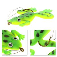 Wholesale 4 cm D Eyes Fishing Lures Isca Artificial Carp Fishing Lure Pesca Single Hook Soft Bait g Brown Green