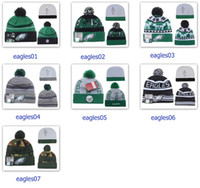 silver eagle - Winter Wool Hats Eagles Beanies