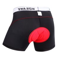Wholesale High Quality padded bike shorts men Women Black cycling shorts gel D Leisure Mountain Bike Bicycle Pants quickly dry S XXL