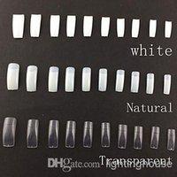 Cheap Hot 500 Professional Korean Standards Half Well False Acrylic Nail Art Tips,fake fingernails(Assorted Colors,50PCSx10 Sizes Mixed)