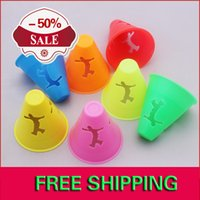 artistic roller - Hollow out Artistic Roller Skating Windproof Cups High Quality Semi soft Cups Slalom Windproof Cups
