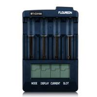 aa battery adapter - FLOUREON Intelligent LCD Display Battery Charger Analyzer Tester Li ion NiMH NiCd AA AAA Batteries Charger EU Adapter