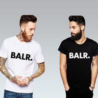 Wholesale Sport Football BALR T Shirts Men Soccer balr Man T Shirt Cotton O Neck Mens Tops Euro Size