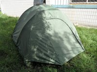 Wholesale suitable for man mountain tent waterprof tent for ourdoor olive green color camping tent