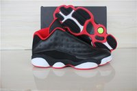 basket - retro xiii basketball shoes sneakers XIII mens basketball shoes cheap sneakers black red high cut low cut Outdoor sports shoes