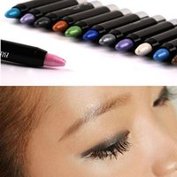 big eyeshadow - 1 Women Ladies Eyeshadow Pen Lip Liner Makeup Cosmetic Lower Eyelid Cream Big Eye Pencil Makeup Beauty Tools