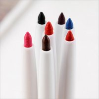 Wholesale HOT Lip Liner Profissional makeup automatic rotary pencil maquiagem maquillage maquillaje lips lady waterproof beauty