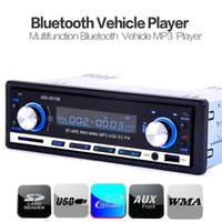 2016 nuevo estilo estéreo Bluetooth Car Audio DVD Coche 1 DIN en el tablero de entrada FM Radio Aux Receptor USB SD MP3 Player CEC_823