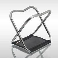 Wholesale aluminum alloy folding stool fishing chair fishing stool S size