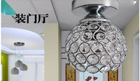 Wholesale k9 crystal light porch light foyer light lamp corridors balcony lighting lamps and lanterns of lighting
