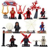 venom - 2015 New arrival sy281 Spiderman venom carnage Minifigures Movies cartoon building Bricks Children Gift