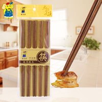 Wood american chopsticks - Practical One Pair Stylish Wooden Chopsticks Engraved Bamboo Chinese Retro Nation Style South American iron wooden Chopsticks