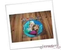 cake plates - Frozen movie kids happy birthday party cake plate decoration supplies FROZEN Square Dessert Party Paper Plates frozenc474