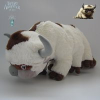 avatar fingers - 22cm AVATAR Last Airbender APPA Stuffed Plush Doll Large Soft Toy inch RARE New