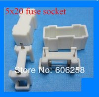 Wholesale 5X20 Fuse Holder Fuse Box White