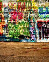 Wholesale 5x7ft Background Photography Studio Computer Printed Colorful Graffiti Wall Lighting Photo Shop Outdoor Wedding Vinyl Backdrops light hero