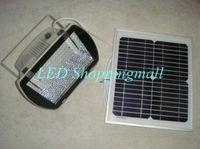 Wholesale DHL Freeshipping solar powered flood light Outdoor garden LED solar flood lamp with w solar panel waterproof