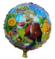 balloon plants - New Foil Balloon inch Plants Vs Zombies Helium Balloons Cartoon Characters Birthday Party Toys