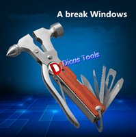 Wholesale Household car safety broken glass life saving hammer outdoor multi function combination tools
