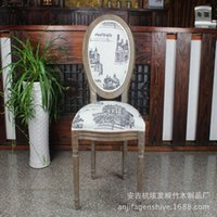Wholesale high end real paint gray castle chair soft and comfortable chair furniture factory direct