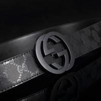 belts - GG belt The new high end business men s leather belt buckle belt leisure joker automatically