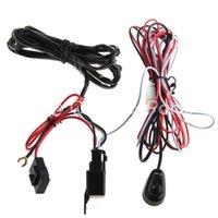 achat en gros de harnais de conduite-Gros-LED travail de conduire la lumière du faisceau de câblage Kit 12V 40A Commutateur de relais