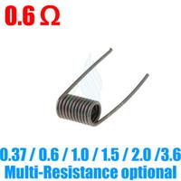 wire - Kanthal A1 Nichrome Pre Coiled Wires for RDA mod Rebuildable Atomizers Aris Aqua kayfun HAZE Stillare Orchid V4 V3 mini e cigarettes RBA