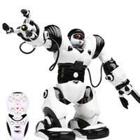 Wholesale Hot Toys Robben Ait RC Robot Intelligent Programmable Dialogue Dance Multifunction Remote Control Robots Toy For Kids Gift
