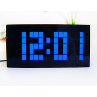 alarm clock promotional - Big Size Weather Station Projection LED Digital Alarm Clock Electronic Wall Clock Promotional Clock