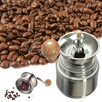 Wholesale Manual Spice Bean Coffee Grinder Baby Rice Stainless Steel Burr Grinder with Adjustable Ceramic Core order lt no track