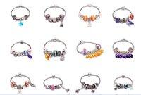 beauty beaded bracelets - Beads Bracelets Jewelry Beauty Fashion coloured glaze Beads Bracelets Personality small Tower Pendant Bracelets