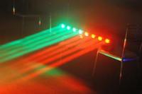 Wholesale LED cree lamp8pcs10w full color Rotation Beam Light