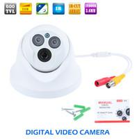 Vidéo osd France-1200TVL surveillance vidéo HD CCTV IR caméra dôme intérieur 1000tvl nuit OSD nuit par epacket nouvelle arrivée ZM00103