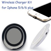 iphone 5 charger case - Original Qi Wireless Charger Charging Pad S6 S7 edge for Iphone plus Qi Wireless Charging Receiver Case Kit for Iphone s plus