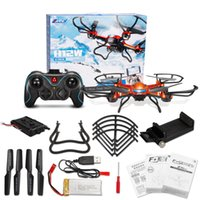 Wholesale JJRC H12w Ghz Headless Mode One Key Return RC Quadcopter Drone with MP Camera WIFI Connection LCD Display