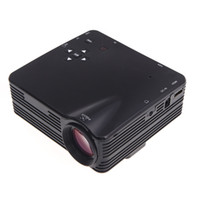 Wholesale Portable Full HD P LCD Lms TV Beamer Projetor Projector for Movies Home Theater Cinema with HDMI AV VGA SD USB V712