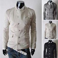 Cheap 2014 autumn\winter new fashion America style men s causal jacket clothing manteau menswear coat man jaket.3 colours size M-XXL