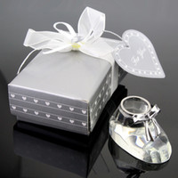 baptism gift girl - Crystal Shoe Baby Shower Baptism Favor Party Gifts Baby Girl Gift Present