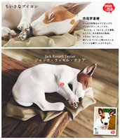 Wholesale Shangzhi toys produced The animal model of pet dog Jack Russell Terrier manual Limited Edition