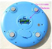 abs platform - kg protable round digital bathroom scale with ABS material platform g graduaction division
